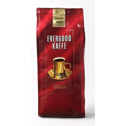 Kaffe Evergood filter Classic 250g. Pris for 24 stk.