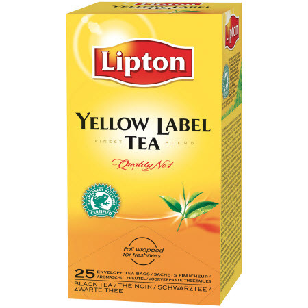 Te Lipton Yellow Label. Pris for 150 teposer